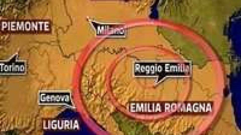 Terremoto magnitudo 5.9 in Emilia Romagna.