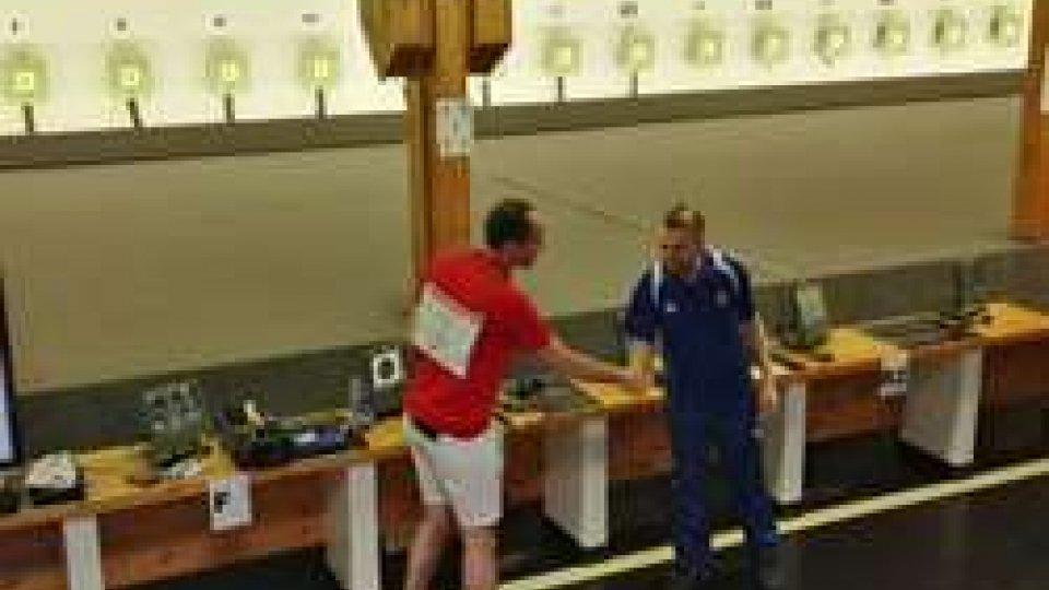 Pistola 10 metri: Paolo Cecchini accarezza il bronzo. Per lui 4° posto e delusionePistola 10 metri: Paolo Cecchini accarezza il bronzo. Per lui 4° posto e delusione