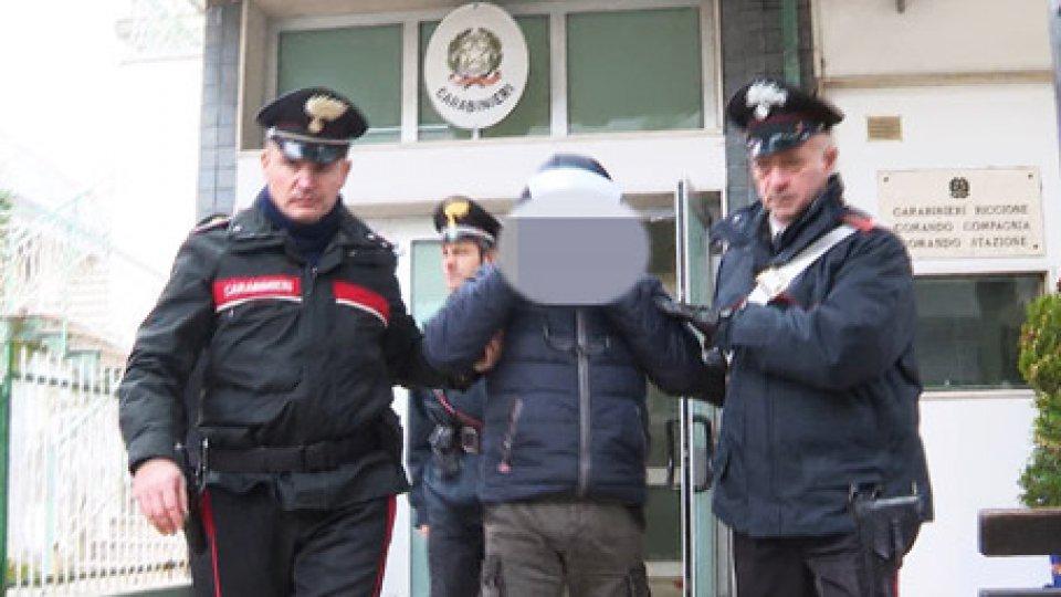 L'arresto del 68enne