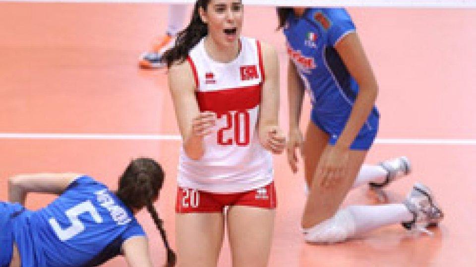 Volley Femminile: Turchia e Bulgaria in amichevole al Multieventi