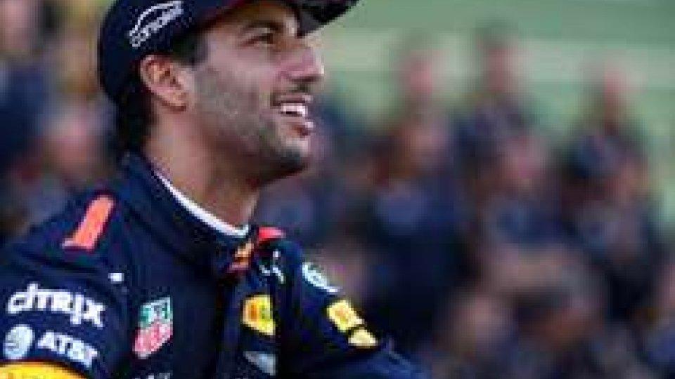 Daniel Ricciardo (@redbull)
