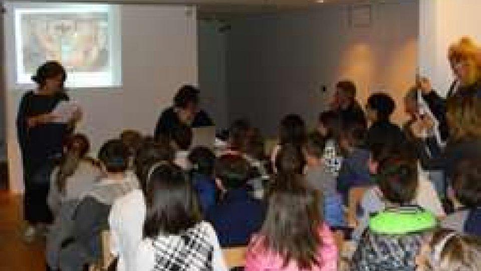 """""""I tesori di Domagnano"""" Premiazione della classe vincitrice del concorso letterario"""