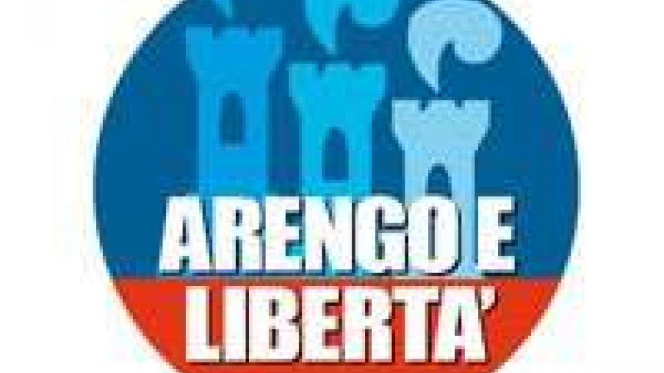 Arengo e Libertà in lista con l'Unione per la Repubblica