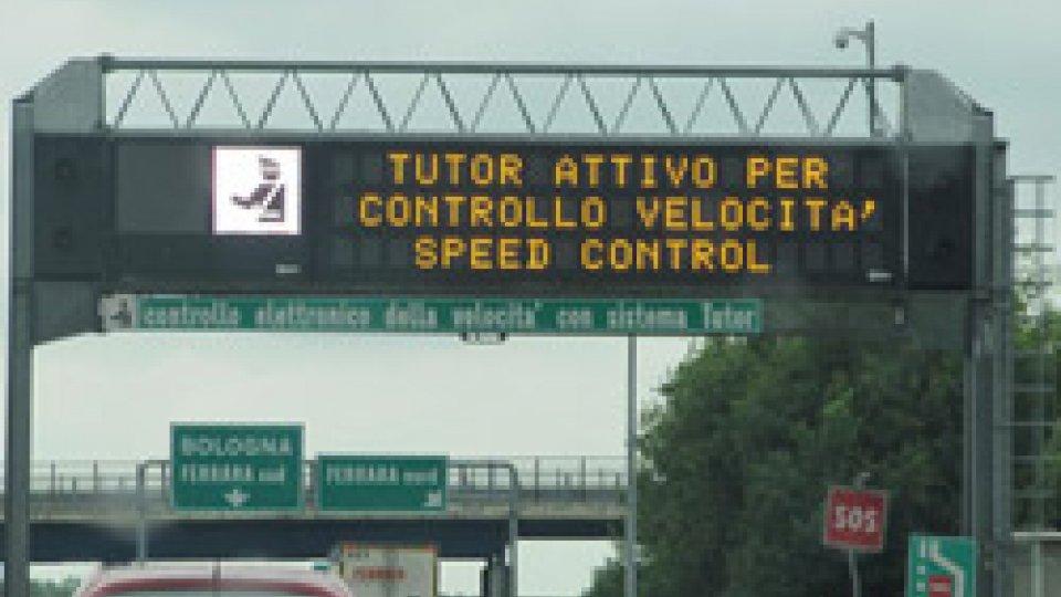 """Tutor autistradeDa oggi tornano i """"Tutor"""" nelle autostrade italiane. Non risparmieranno più le targhe sammarinesi"""