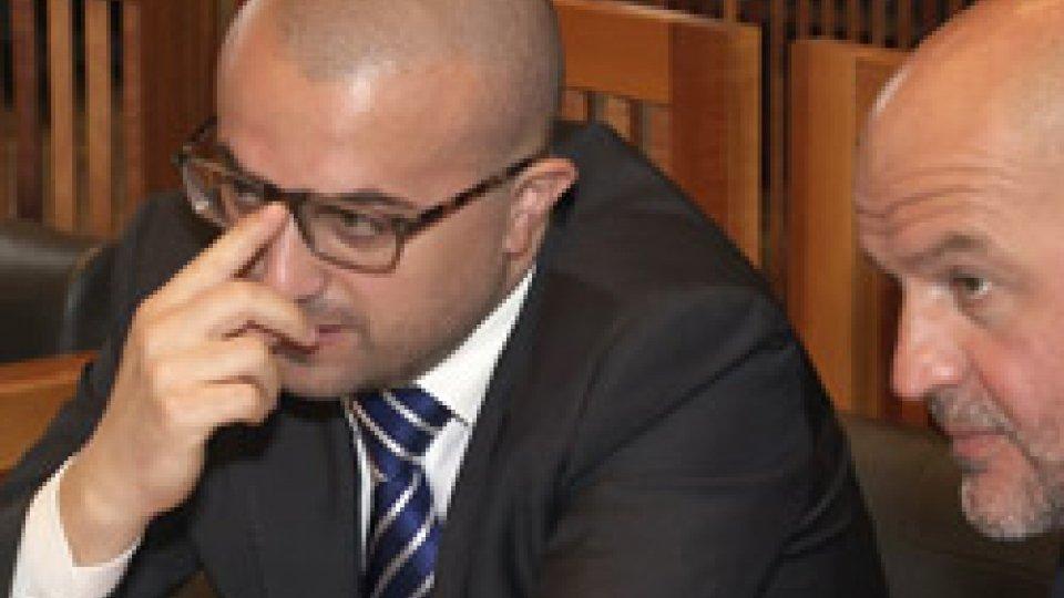I Segretari Celli e PodeschiConsiglio: Celli riferisce all'aula sulla revoca del Direttore di BCSM Moretti