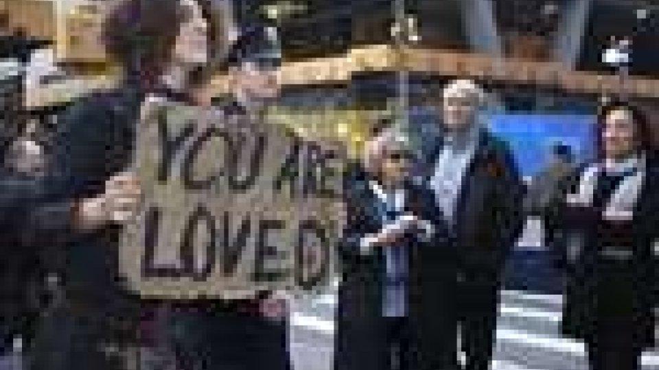 New York. Nuova marcia degli indignados su Wall Street