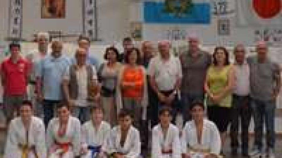Judo: il club di Froges in visita sul Titano