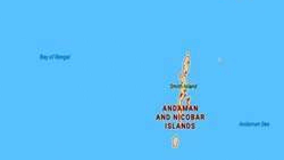 Terremoto di scossa magnitudo 6 nelle isole Nicobare