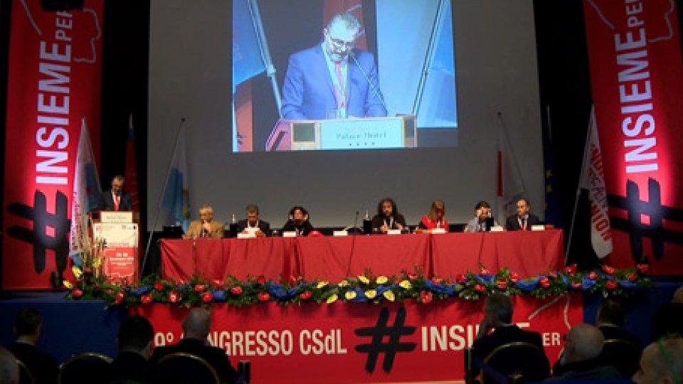 Congresso CSdl dedicato ai grandi temi di attualità, nessuno sconto al Governo