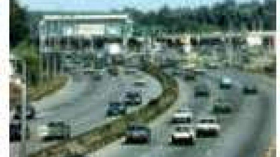 Macchine in autostrada