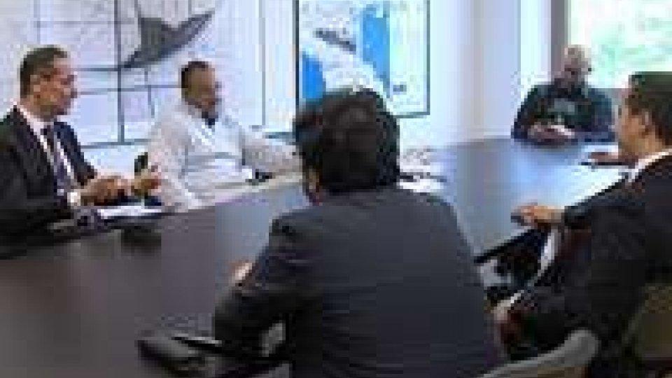 Nuovo palinsesto: i vertici di San Marino Rtv incontrano i Capigruppo CGG per la presentazione in anteprima