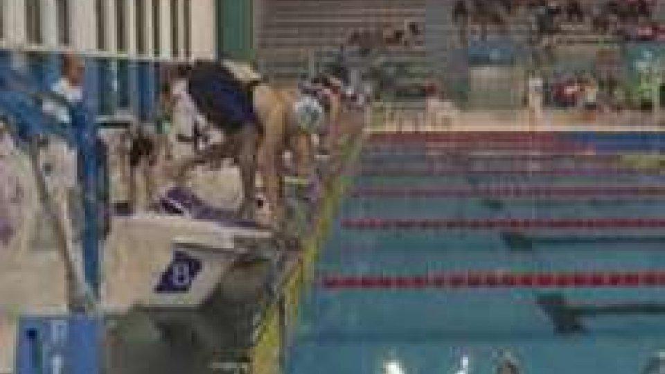 Nuoto, Meeting del Titano: oggi le ultime finali, Valenti, Casadei e Tamagnini secondi nelle qualifiche. Valloni ai nazionali juniores