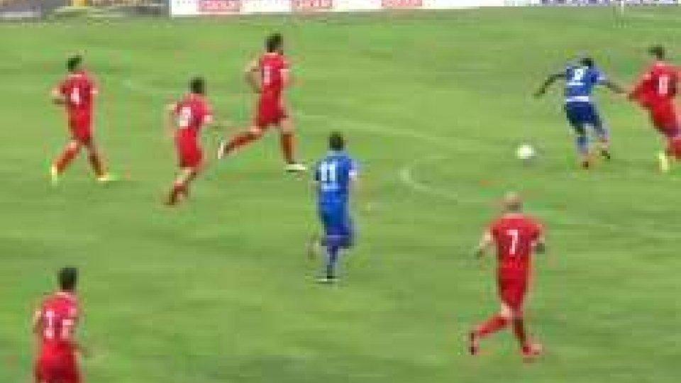 Santarcangelo, finale disastroso: a Prato finisce 3-3Santarcangelo, finale disastroso: a Prato finisce 3-3