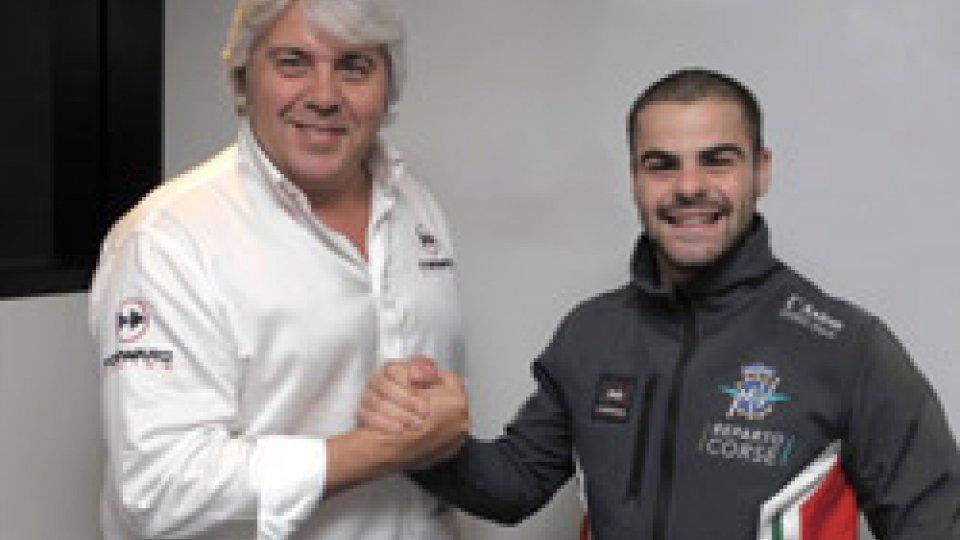 Motomondiale: Romano Fenati in sella alla nuova MV Agusta