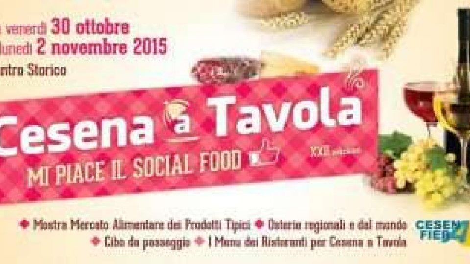 """""""Cesena a Tavola"""", ritornano gusto e tradizione"""
