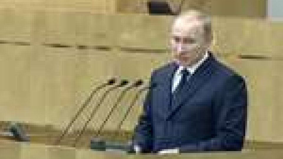 """Putin: """"Sovranità degli Stati calpestata con le migliori intenzioni"""""""
