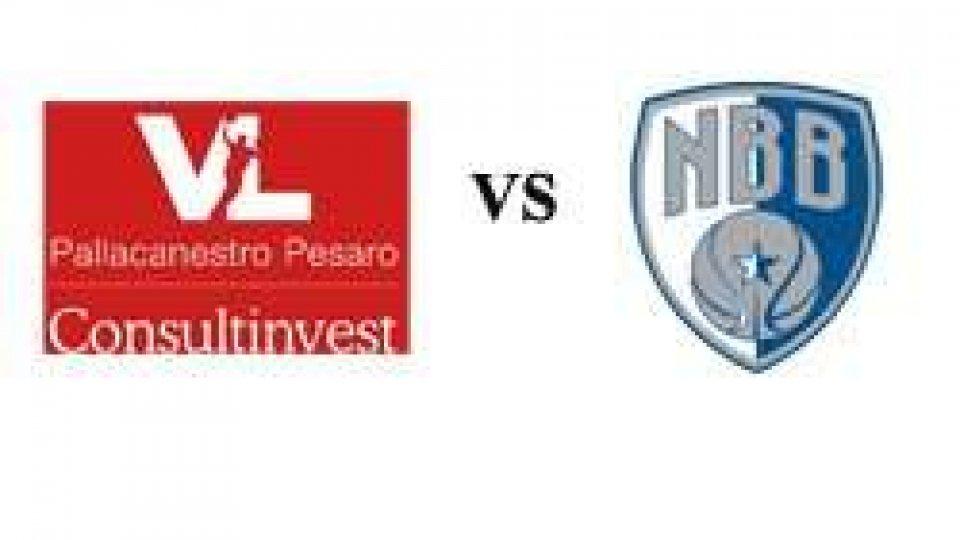 Basket: VL Pesaro-Enel Brindisi 75-70