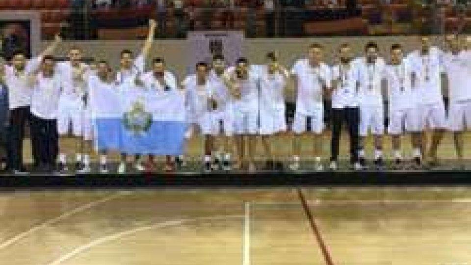 Basket, San Marino è di bronzo agli Europei dei Piccoli StatiBasket, San Marino è di bronzo agli Europei dei Piccoli Stati