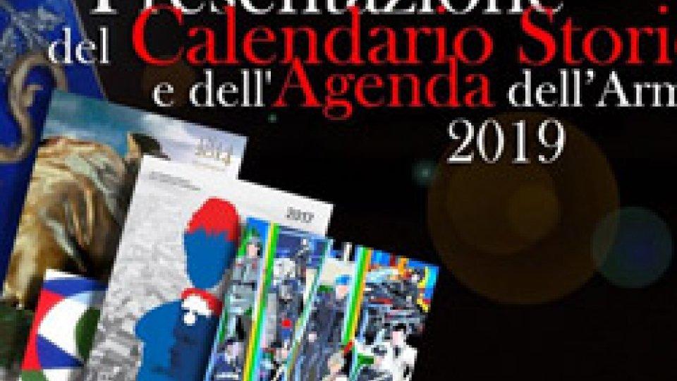 I Carabinieri presentano il Calendario Storico e l'Agenda Storica 2019