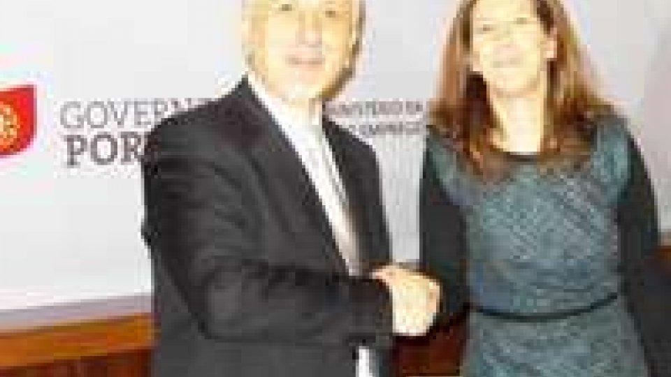 Accordo San Marino- Portogallo su cooperazione turisticaAccordo San Marino-Portogallo