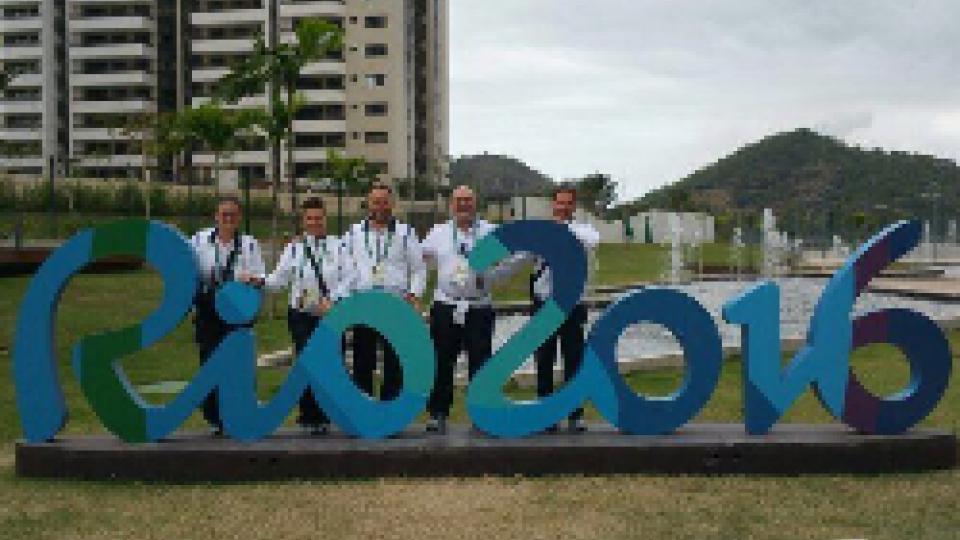Olimpiadi: i primi Titani sono atterrati a Rio.