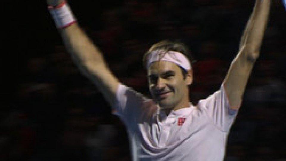 Roger FedererFederer re a Basilea, la Svitolina trionfa nelle Finals