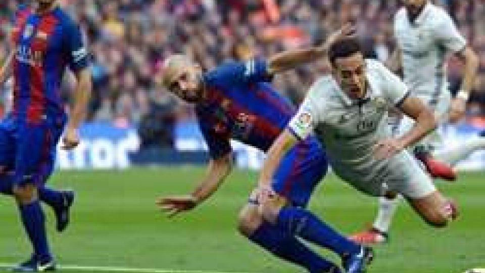 """Liga: """"el clasico"""" finisce 1-1"""