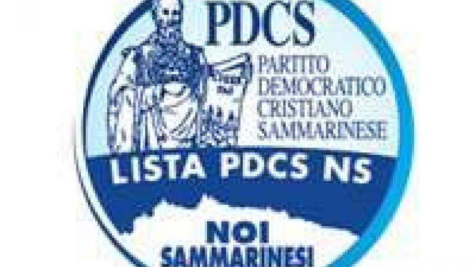 La lista Pdcs-Ns ringrazia i sostenitori