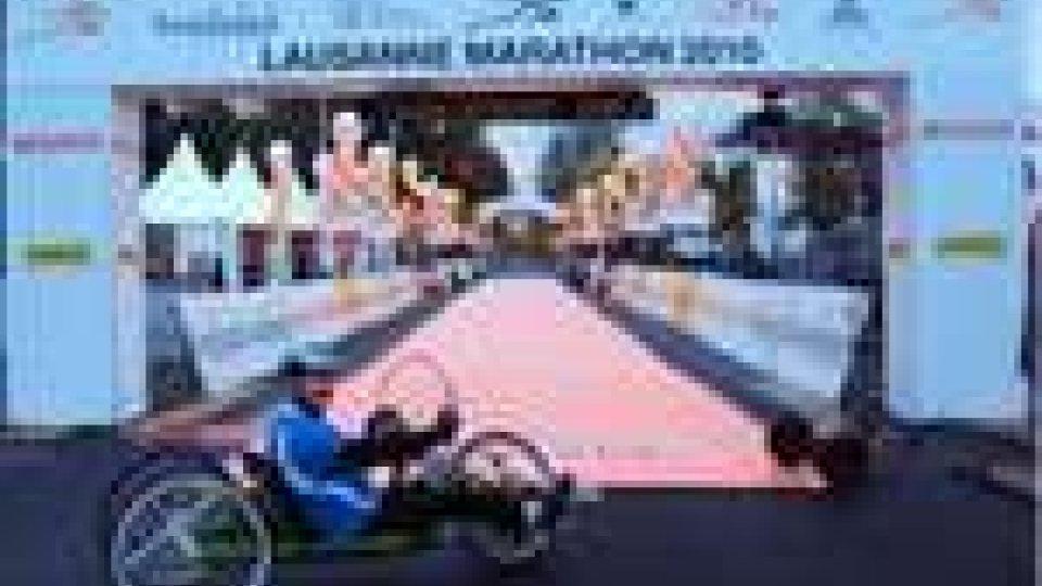 San Marino - Il Comitato Paralimpico a Losanna