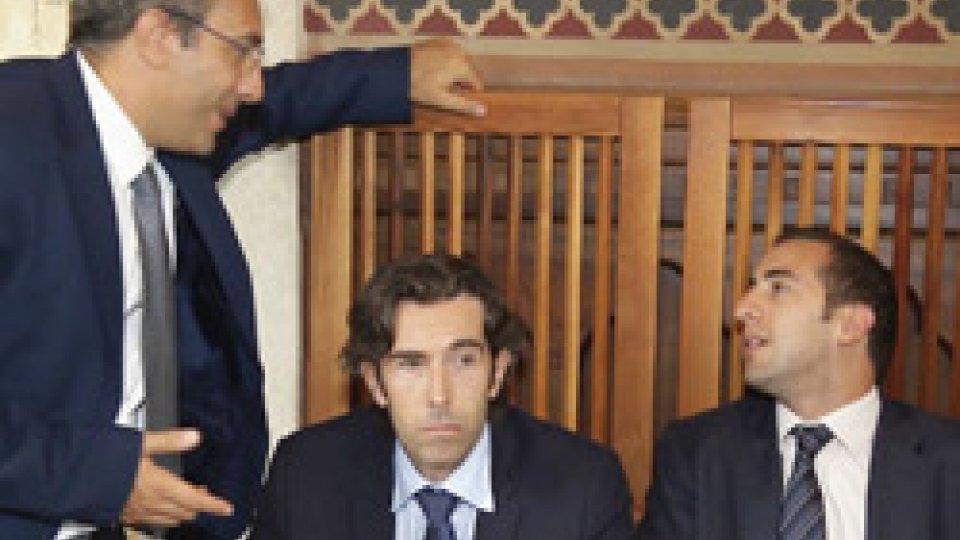 Francesco Mussoni, Massimo Andrea Ugolini e Alessandro CardelliConsiglio: si apre il dibattito sul decreto scuola