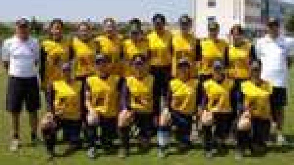 San Marino - Vittoria delle Hornets nel torneo Winter Softball