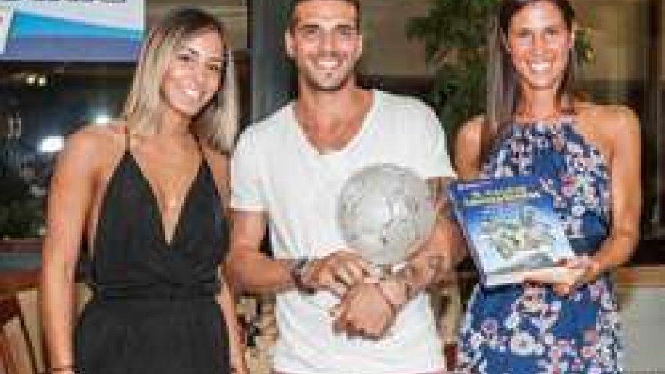La premiazione di Danilo RinaldiCalcio Estate: premiati i protagonisti della scorsa stagione. Le interviste a Bizzotto e Rinaldi