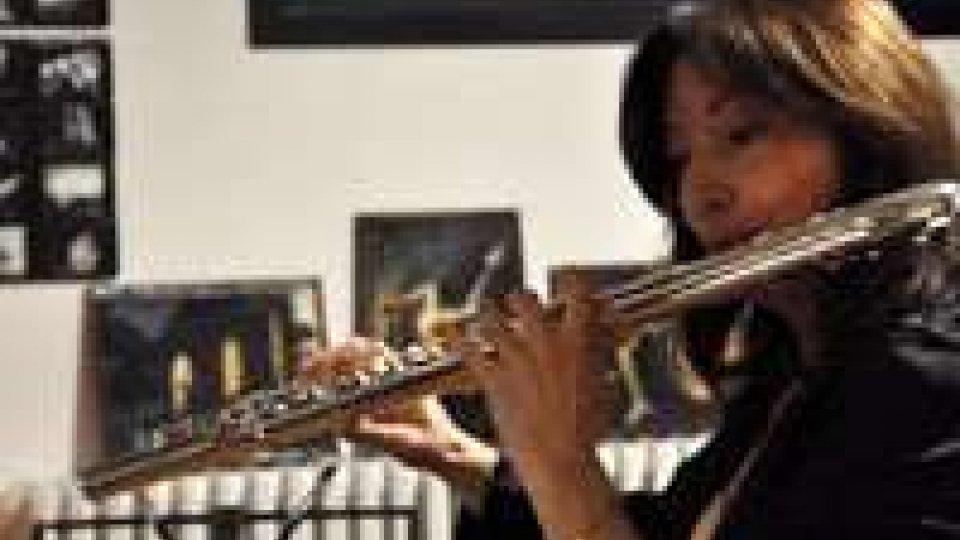 Monica Moroni in concerto nella chiesa di Santa Maria della Rosa a Tuscania