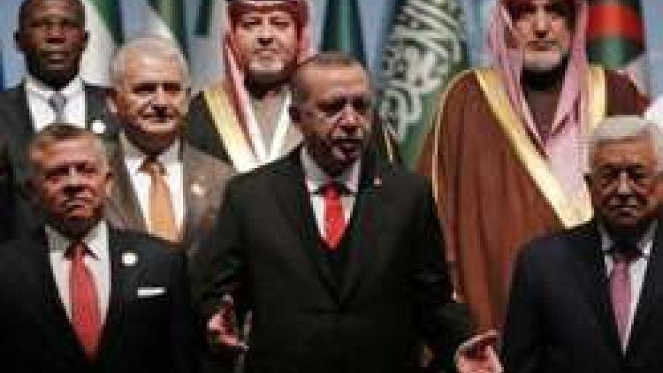 Summit paesi islamici a Istanbul