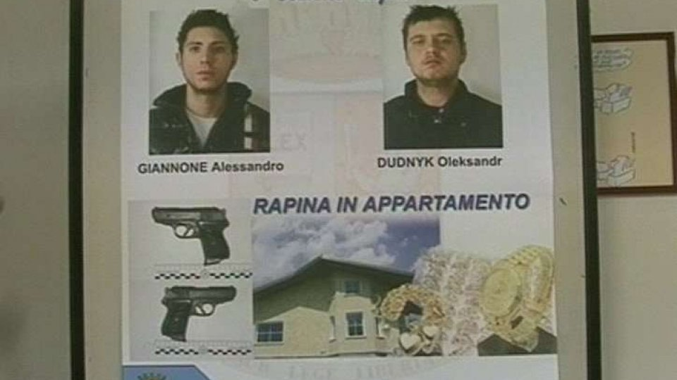 Arrestati i rapinatori di Viserba