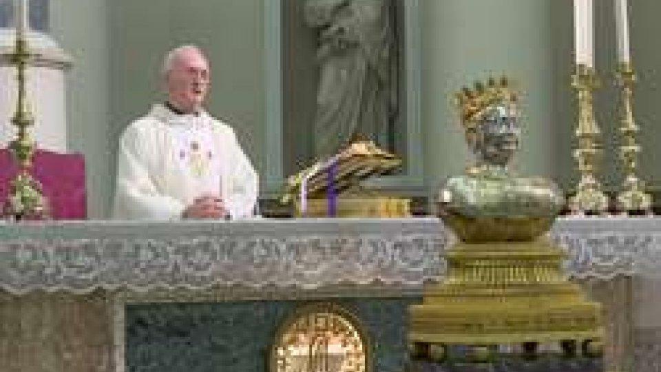 Sacra Teca di San MarinoFesta del Paròn: in Pieve l'esposizione della Sacra Teca di San Marino