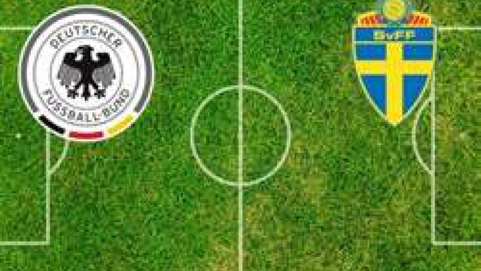 Cuore Germania, Svezia ribaltata al 95°: 2-1 e tedeschi ancora vivi