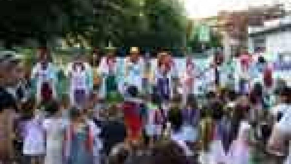 San Marino - La clownterapia ringrazia la scuola materna di Cà Ragni