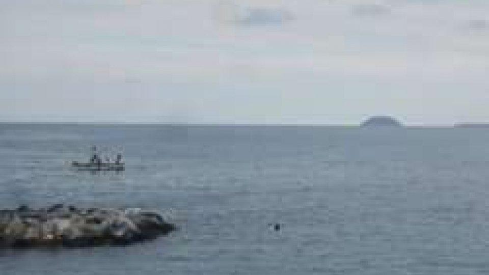 Il mare a largo di Genova