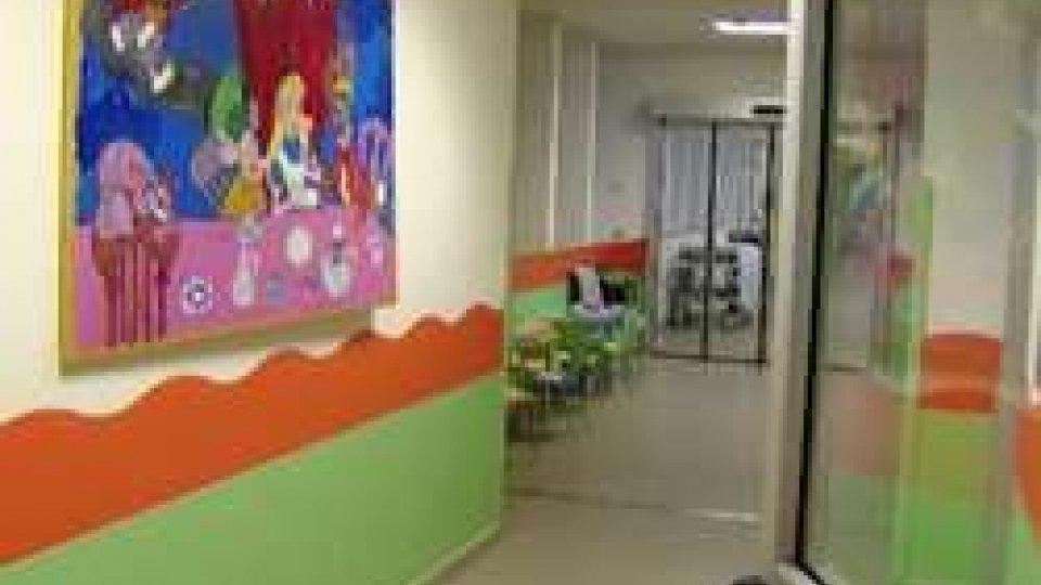 Il reparto di pediatria