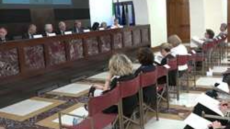 sala polifunzionale della Presidenza del Consiglio dei MinistriItalia e San Marino insieme nella lotta contro gli abusi sessuali sui minori