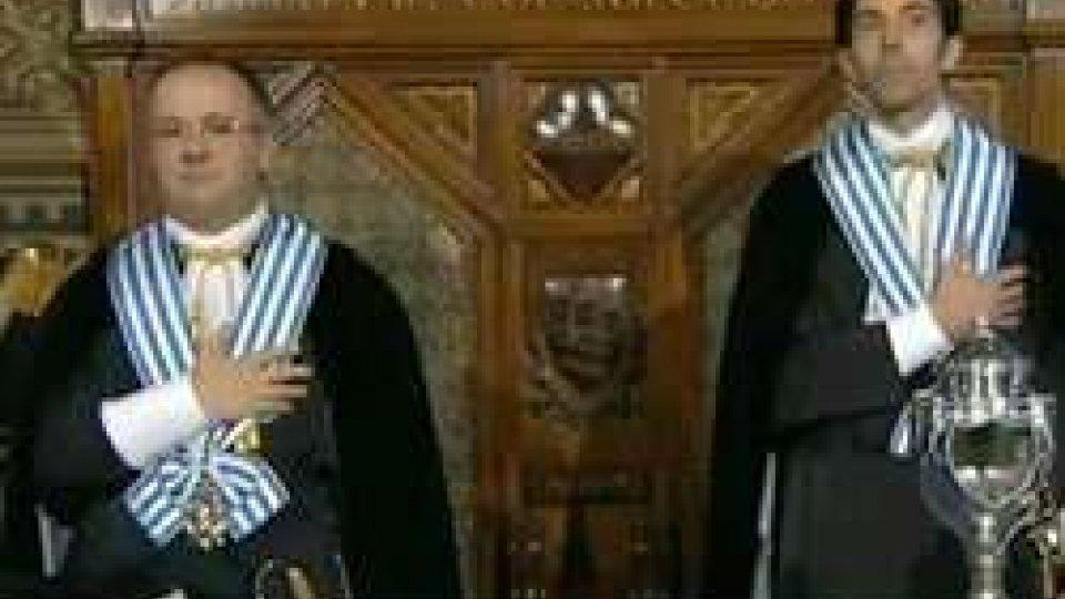 Gian Nicola Berti e Massimo Andrea Ugolini15 settembre, Giornata della Democrazia. Il messaggio dei Capitani Reggenti