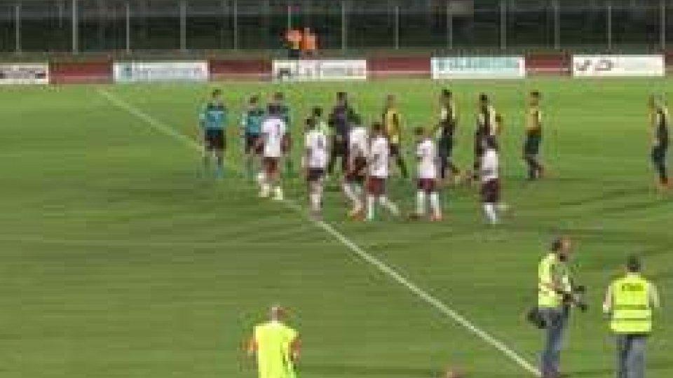Lega Pro: Santarcangelo-Arezzo 1-1Lega Pro: Santarcangelo-Arezzo 1-1