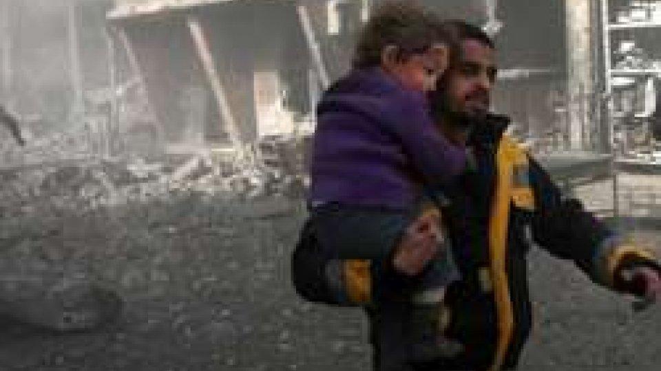 (@Afp)Siria: escalation di tensione, su attacco chimico Usa chiede inchiesta indipendente