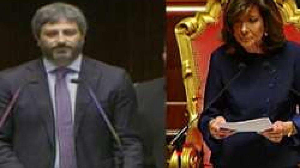Fico e Casellati eletti presidenti delle Camere, concretizzata intesa M5S-Lega