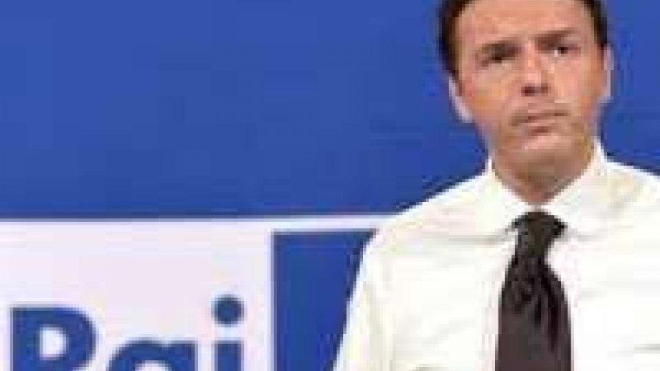 """Rai, Renzi prepara modello per la tv pubblica """"modello Spa"""""""