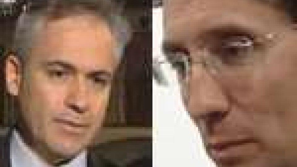 Pier Marino Mularoni e Alberto Selva d'accordo con Bossone