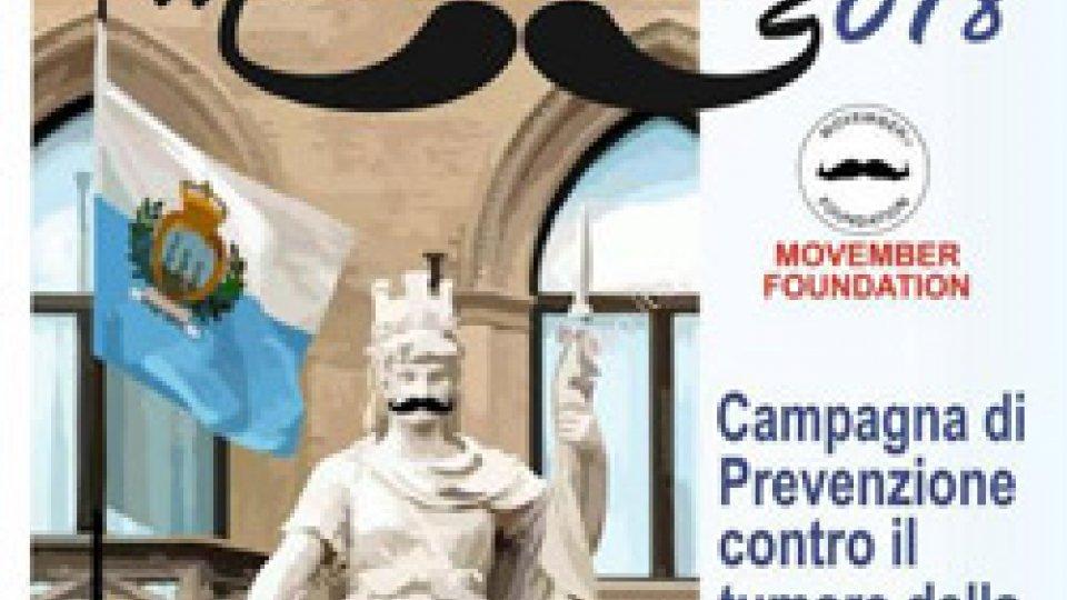 """San Marino aderisce al """"Movember"""", campagna internazionale contro il tumore alla prostata"""