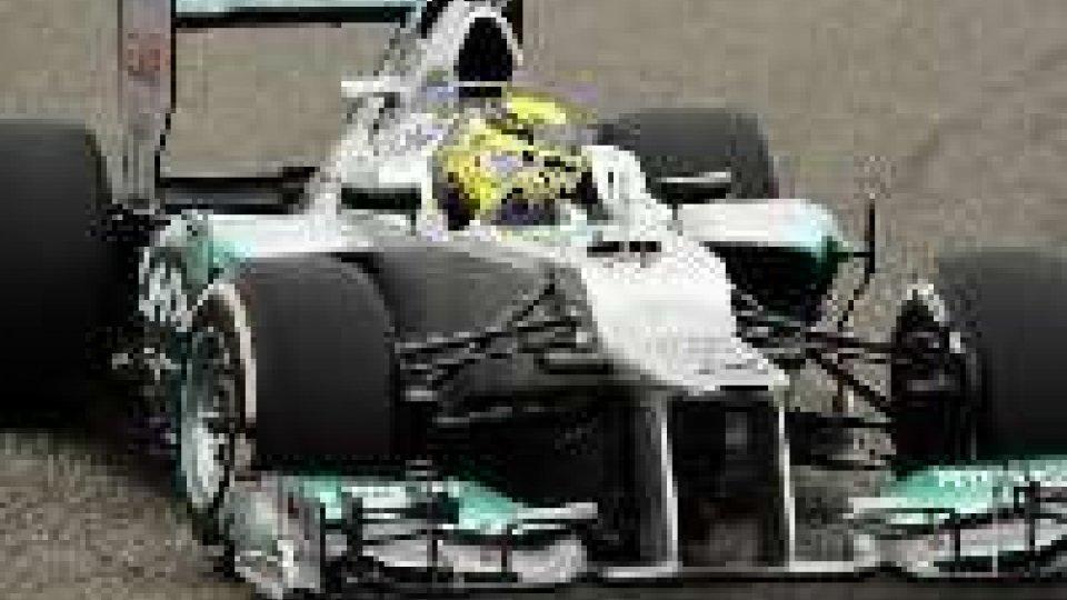 F1 Brasile: pole di Rosberg, 8° Alonso