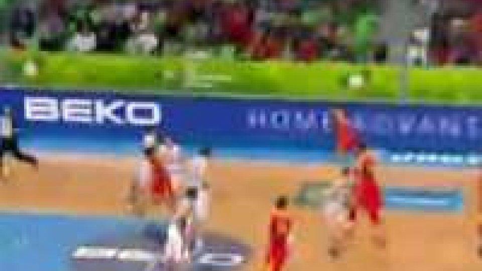Eurobasket. Spagna e Francia in semifinale.Eurobasket. Spagna e Francia in semifinale.